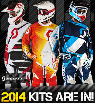 2014 Scott Motocross Kit