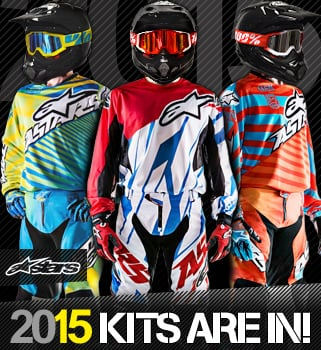 2015 Alpinestars Motocross Kit Available Now!