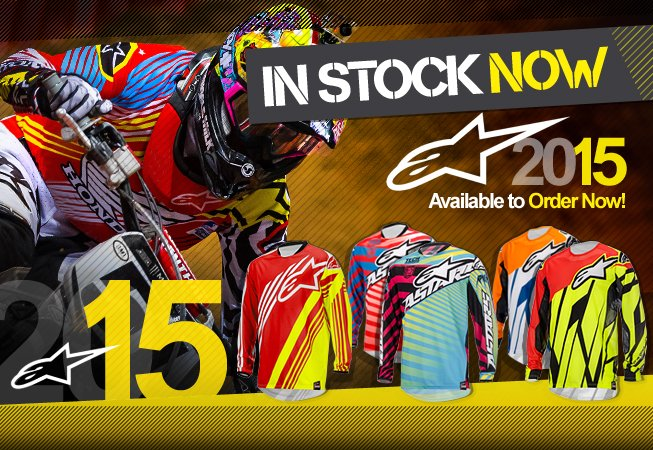 2015 Alpinestars Kit and Gear IN STOCK!