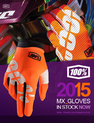 2015 100% Motocross Gloves Out Now