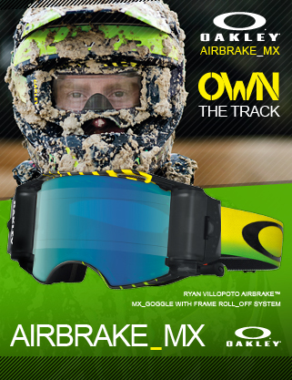 Oakley Airbrake MX Goggles at Dirtbikexpress