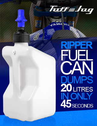 TuffJugg Fuel Cans at Dirtbikexpress