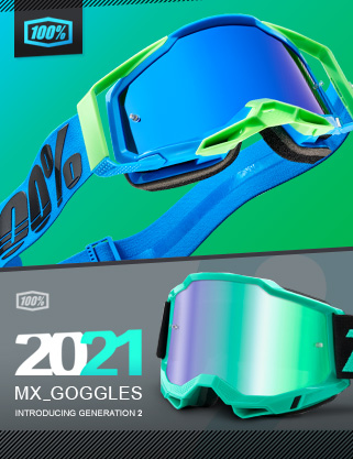 100 Percent Generation 2 Motocross Goggles Available at Dirtbikexpress