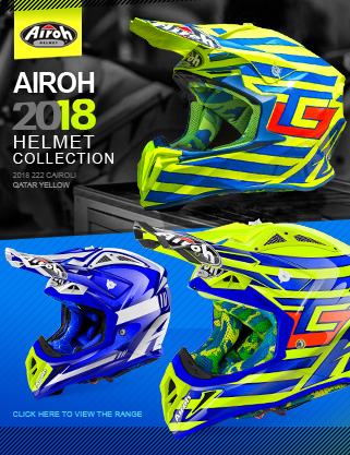 Airoh 2018 Aviator Twist Terminator MX Motocross Helmets IN STOCK NOW! at Dirtbikexpress