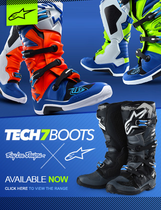 Alpinestars Troy Lee Designs Tech 7 Motocross Boot Range at Dirtbikexpress