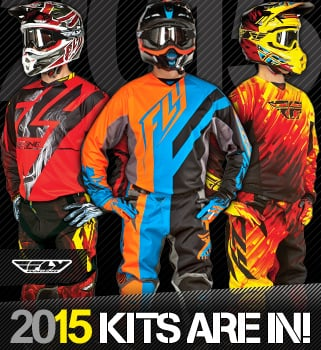 2015 Fly Racing Motocross Kit
