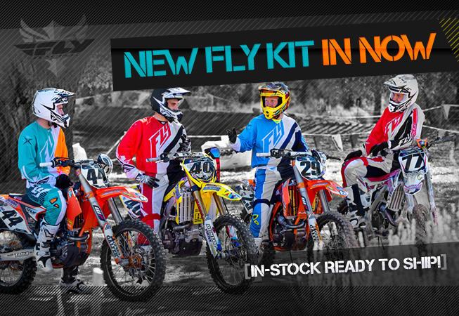 Fly Racing Spring Motocross Kit Release - Available Now!