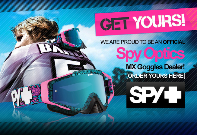 Spy Optic Motocross Goggles - Available Now at Dirtbikexpress!