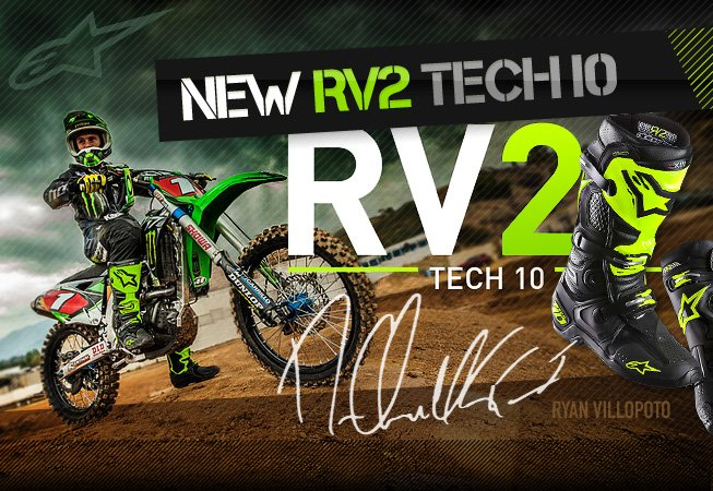 Alpinestars Tech 10 RV2 Edition Available NOW!
