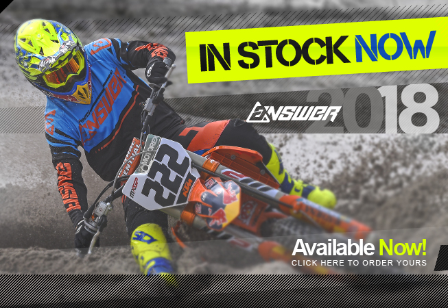 2018 Answer Racing Kit IN NOW at Dirtbikexpress!