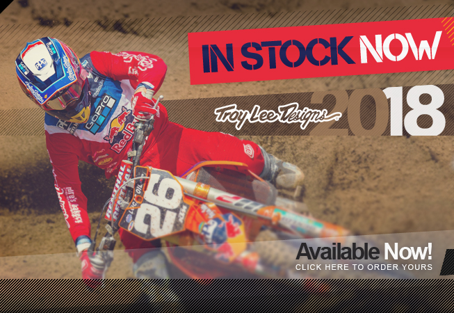 2018 Troy Lee Designs Kit IN NOW at Dirtbikexpress!