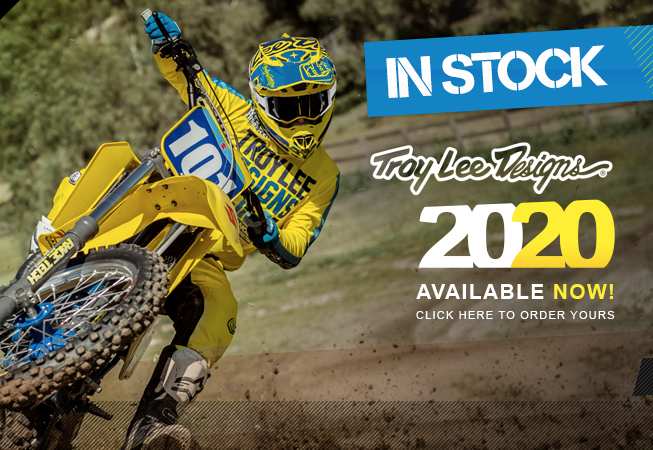 Troy Lee Designs 2020 Kit IN NOW at Dirtbikexpress!