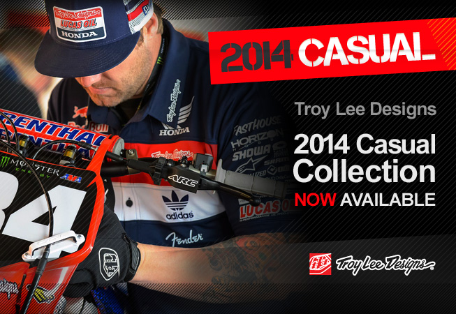 2014 Troy Lee Designs Motocross Casual