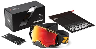 100% Armega Motocross Goggles - Everything starts as a dream