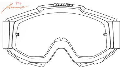 100% Accuri Motocross Goggle