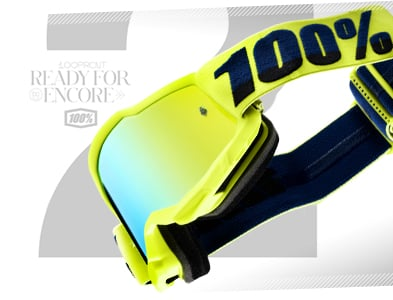 Buy 100% Accuri2 Motocross Goggles at Dirtbikexpress, the UK's favourite motocross store.