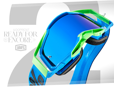 100% Racecraft 2 Motocross Goggles - Everything starts as a dream