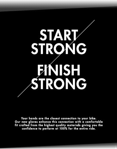 Start Strong - Finish Strong