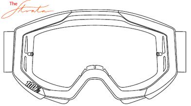 100% Strata Motocross Goggle