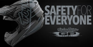 Troy Lee Designs GP Polyacrylite Helmet