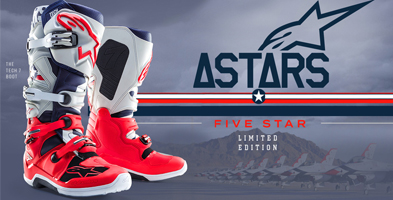 Alpinestars Motocross MX Boot range