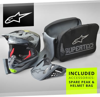 Alpinestars SM10 Helmet Accessories