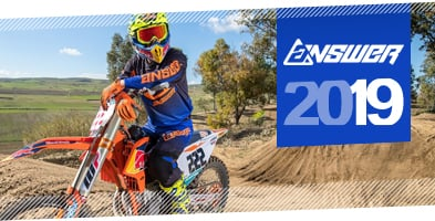 2019 Answer Motocross MX Gloves range