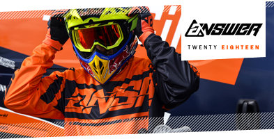2018 Answer Motocross MX Kit range
