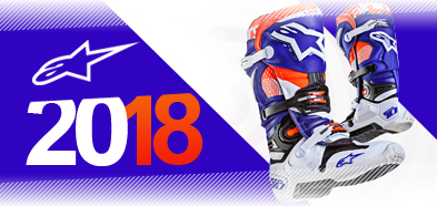 2017 Alpinestars Motocross MX Boot range