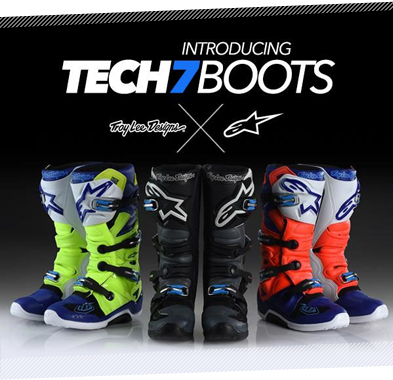 2018 Alpinestars Troy Lee Designs Motocross MX Boot range