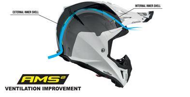 Airoh Aviator 2.3 Motocross Helmet Features
