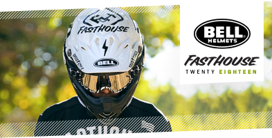 Bell Moto 9 Fasthouse Collab Motocros Helmet
