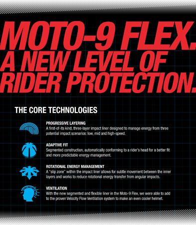 Bell Motocross Moto 9 Flex Helmet