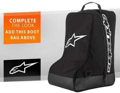 Add this boot bag above!