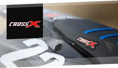 CrossX Racing Motocross Seat Covers