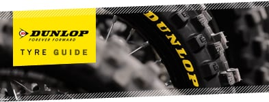 Dunlop Motocross Tyre Guide - click here for the Dunlop Tyre Guide