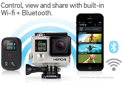 GoPro Hero4 Black Control, View, Share