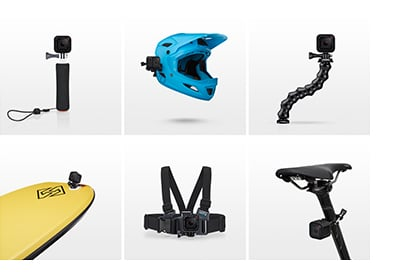 GoPro Hero4 will mount with any other!