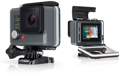 GoPro Hero Rugged, Waterproof, All-in-one Design
