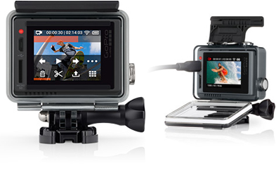 GoPro Hero+ Rugged, Waterproof, All-in-one Design