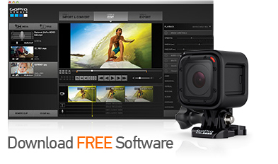 GoPro Hero 4 Session Software from GoPro