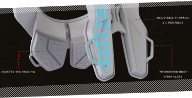 Leatt 3.5 Neck Brace Features