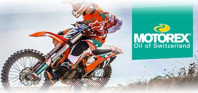 Motorex Motocross Oil range