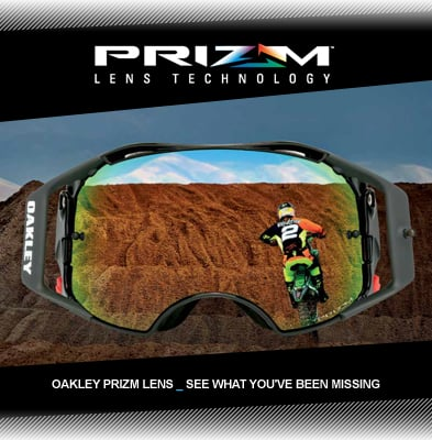 Oakley Airbrake Mx Goggles Chad Reed Speedstripe Prizm