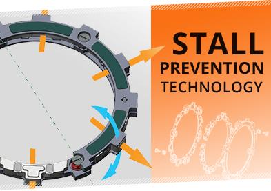 Rekluse RADIUS CX Clutch Stall Prevention
