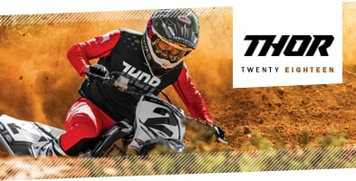 2018 Thor Motocross MX Kit range