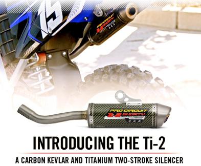 Pro Circuit Ti-2 Exhaust Silencer | Dirtbikexpress™
