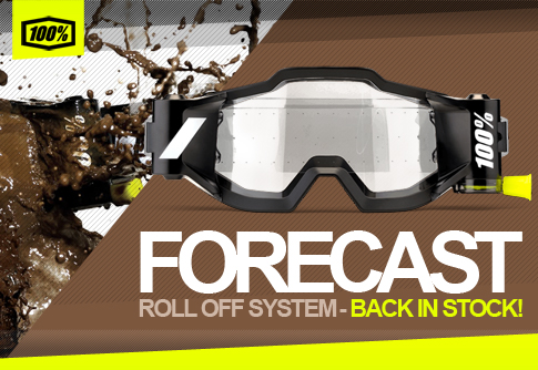 100 Perecnt Forecast Rool Off System fits ANY 100% Goggle