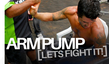 How to fight off Arm Pump!