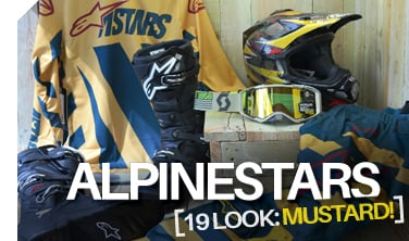 Alpinestars Looks for '19 - MUSTARD!